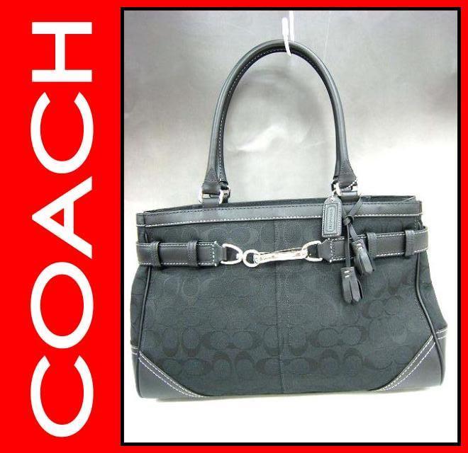 COACH(コーチ)/バッグ/シグネチャーキャリーオール/型番8K07