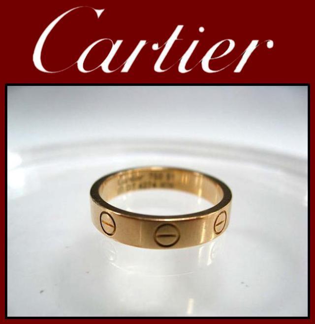 Cartier(カルティエ)/リング/ミニラブリング 18KYG