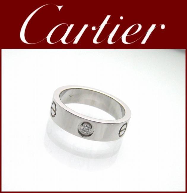 Cartier(カルティエ)/リング/ラブリング Pt950/型番サイズ60