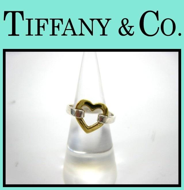TIFFANY&Co.(ティファニー)/リング/オープンハートリング