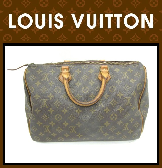 LOUIS VUITTON(ルイヴィトン)/バッグ/スピーディ 35/型番M41524