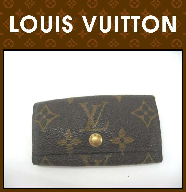 LOUIS VUITTON(ルイヴィトン)/キーケース/ミュルティクレ4/型番M62631