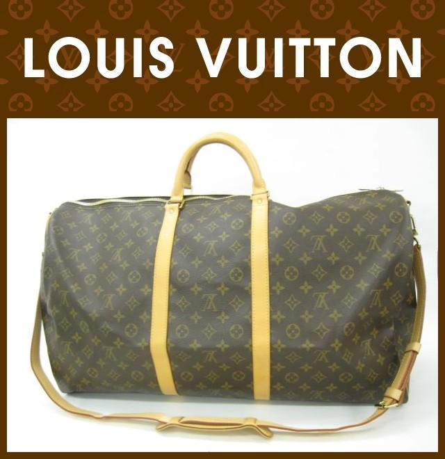 LOUIS VUITTON(ルイヴィトン)/バッグ/キーポルバンドリエール60/型番M41412