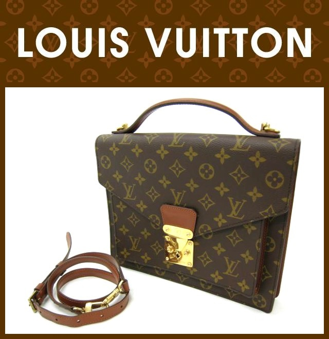 LOUIS VUITTON(ルイヴィトン)/バッグ/モンソー/型番M51185