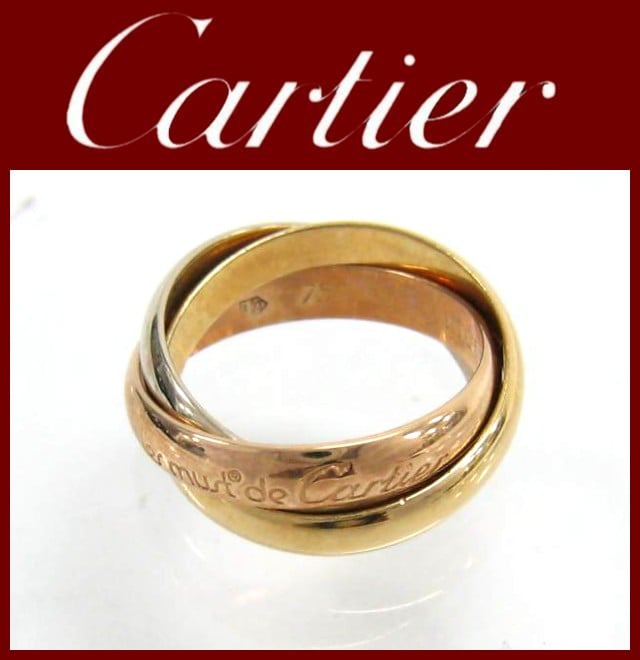 Cartier(カルティエ)/リング/トリニティリング