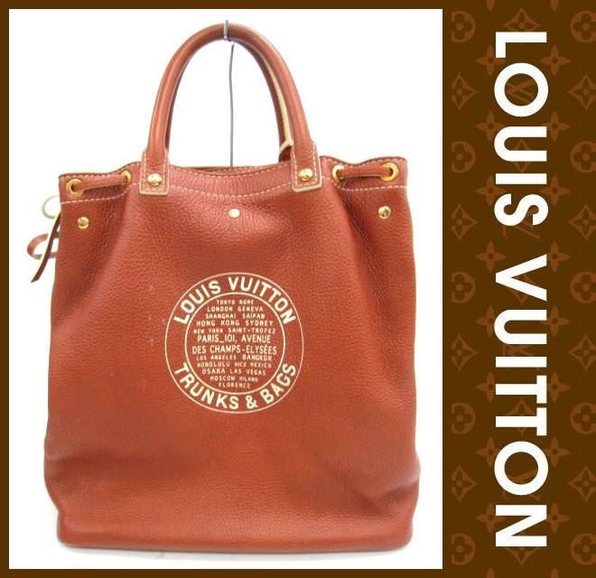 LOUIS VUITTON(ルイヴィトン)/バッグ/トバゴレザー シューバッグ/型番M95142