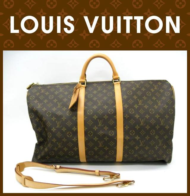 LOUIS VUITTON(ルイヴィトン)/バッグ/キーポル60 バンドリエール/型番M41412