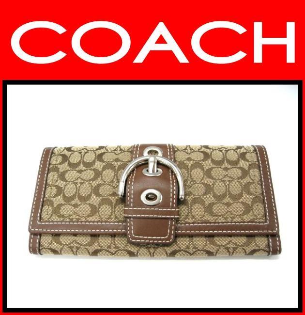 COACH(コーチ)/財布/ソーホー ミニシグネチャー スリムエンベロープ/型番40093