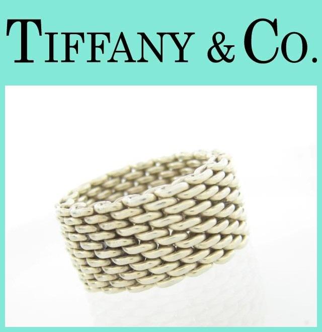 TIFFANY&Co.(ティファニー)/リング/型番メッシュリング
