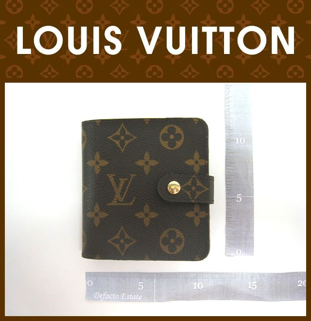 LOUIS VUITTON(ルイヴィトン)/財布/コンパクト・ジップ/型番M61667