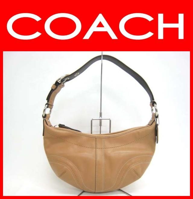 COACH(コーチ)/バッグ/ソーホーミディアムレザーホーボー/型番F12298