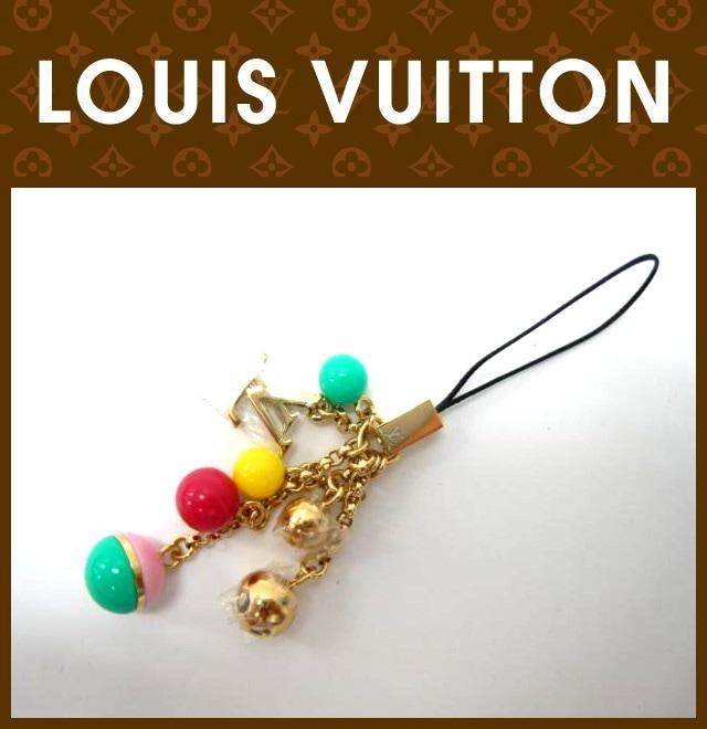 LOUIS VUITTON(ルイヴィトン)/ストラップ/ビジュー・テレフォンヌ・グルロ/型番M62228