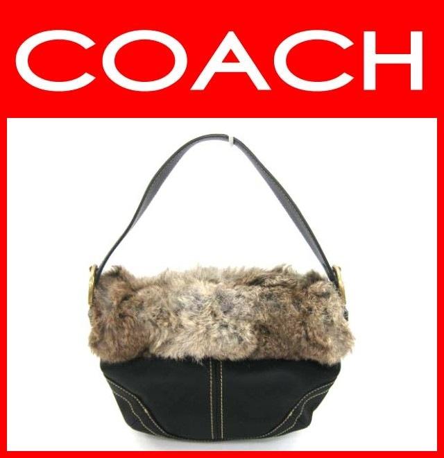 COACH(コーチ)のソーホーファー付バッグ