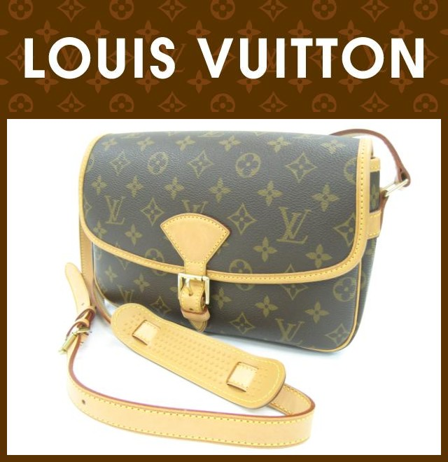 LOUIS VUITTON(ルイヴィトン)/ショルダーバッグ/モノグラム/ソローニュ/型番M42250