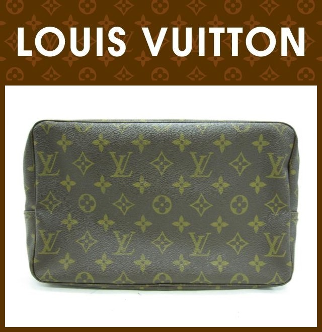 LOUIS VUITTON(ルイヴィトン)/セカンドバッグ/モノグラム/トゥルーストワレット/型番M47522
