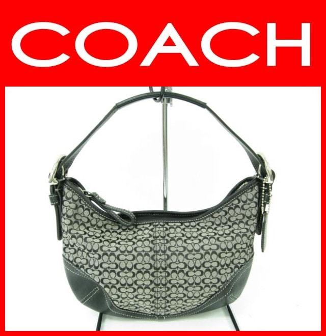 COACH(コーチ)/ショルダーバッグ/ミニシグネチャースモールホーボー/型番6351