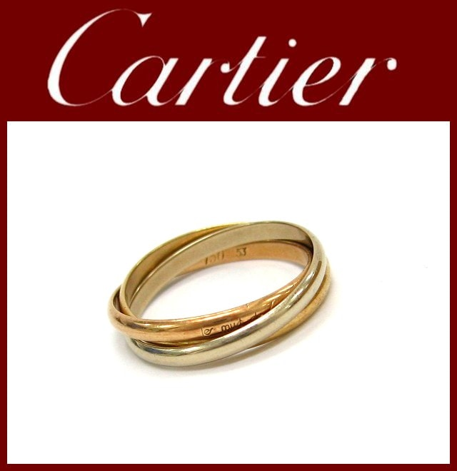Cartier(カルティエ)/リング/トリニティリング