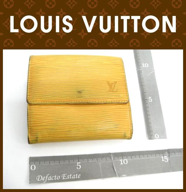 LOUIS VUITTON(ルイヴィトン)/Wホック財布/エピ/ポルトモネビエカルトクレディ/型番M63489