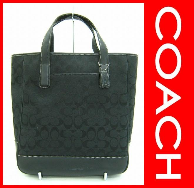 COACH(コーチ)/ハンドバッグ/シグネチャー柄/型番6093