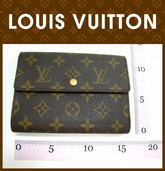 LOUIS VUITTON(ルイヴィトン)/3つ折り財布/モノグラム/ポルトトレゾール エテュイ パピエ/型番M61202