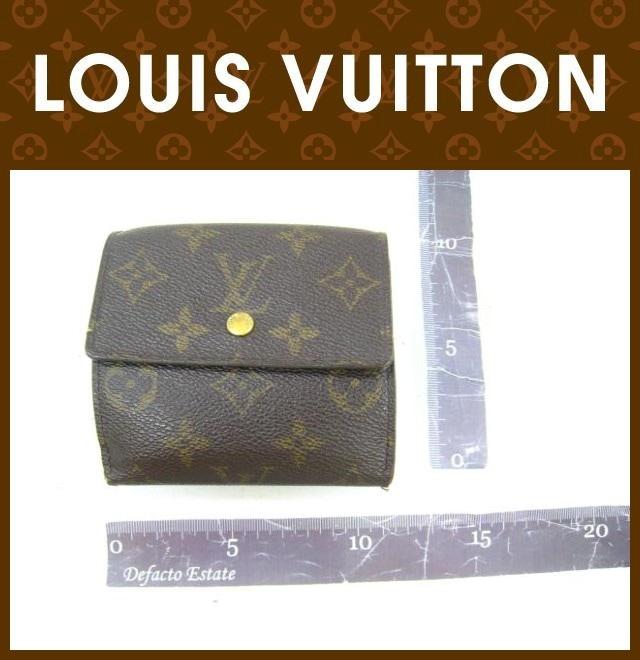 LOUIS VUITTON(ルイヴィトン)/Wホック財布/モノグラム/ポルトモネビエ カルトクレディ/型番M61654