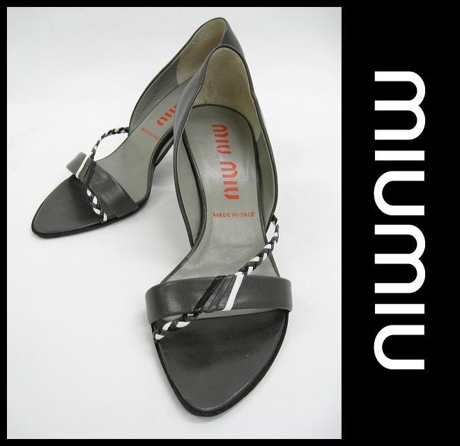 miumiu(ミュウミュウ)/パンプス