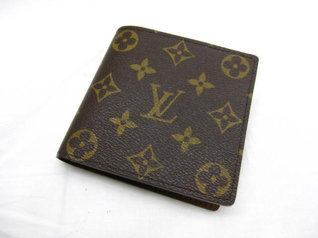 LOUIS VUITTON(ルイヴィトン)/2つ折り財布/モノグラム/ポルトフォイユ・マルコ/型番M61675