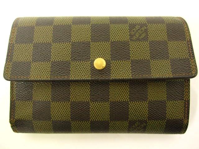 LOUIS VUITTON(ルイヴィトン)/3つ折り財布/ダミエ/ポルト トレゾー・エテュイ パピエ/型番N61202