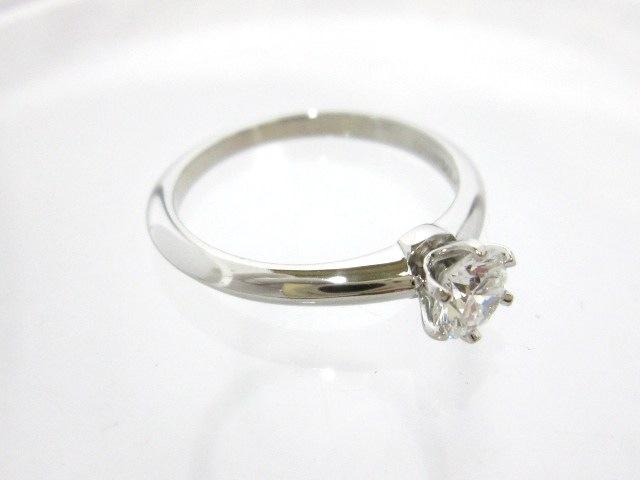 TIFFANY&Co.(ティファニー)のソリティアダイヤモンドリング0.47ct