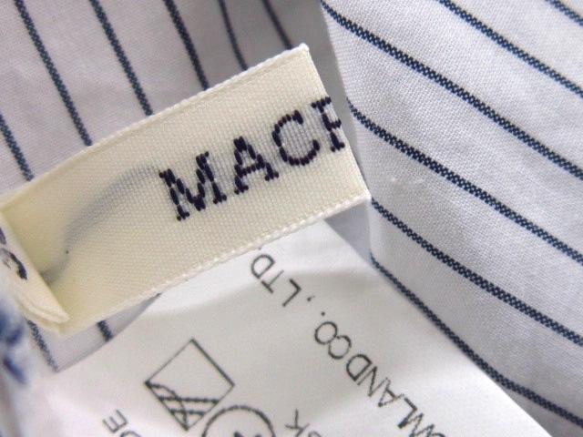 MACPHEE(マカフィ)のシャツブラウス