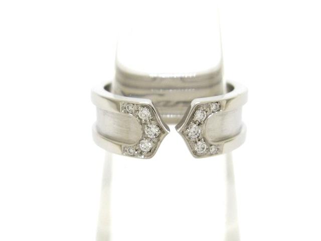 Cartier(カルティエ)の2Cリング ダイヤ