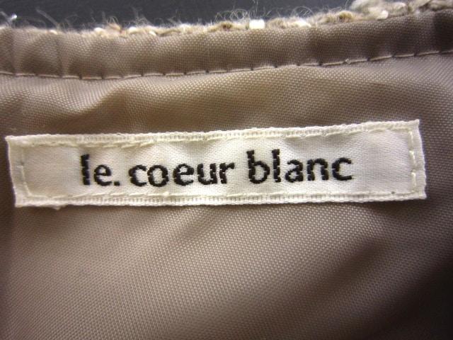 le.coeur blanc(ルクールブラン)のワンピース