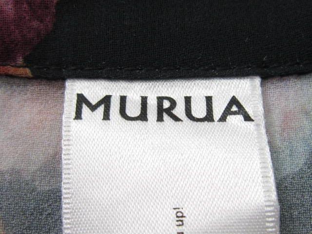 MURUA(ムルーア)のシャツブラウス