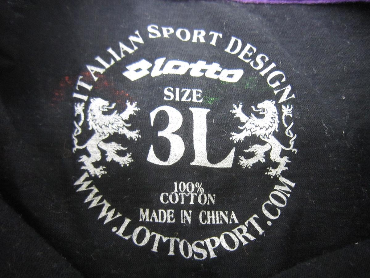lotto(ロット)のTシャツ