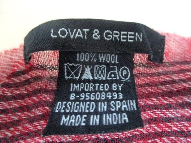 LOVAT&GREEN(ロバットアンドグリーン)のマフラー