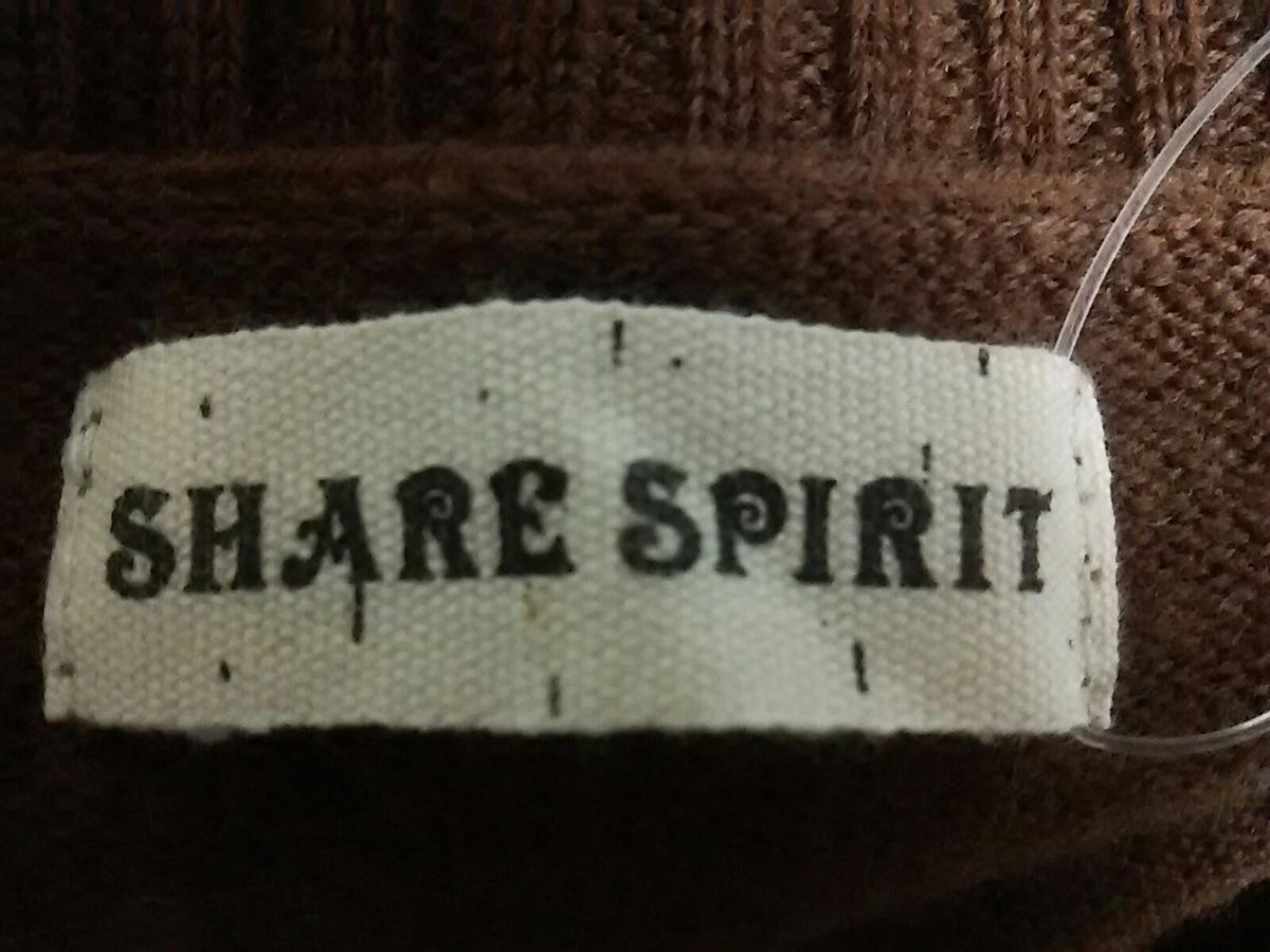 SHARE SPIRIT(シェアスピリット)のセーター