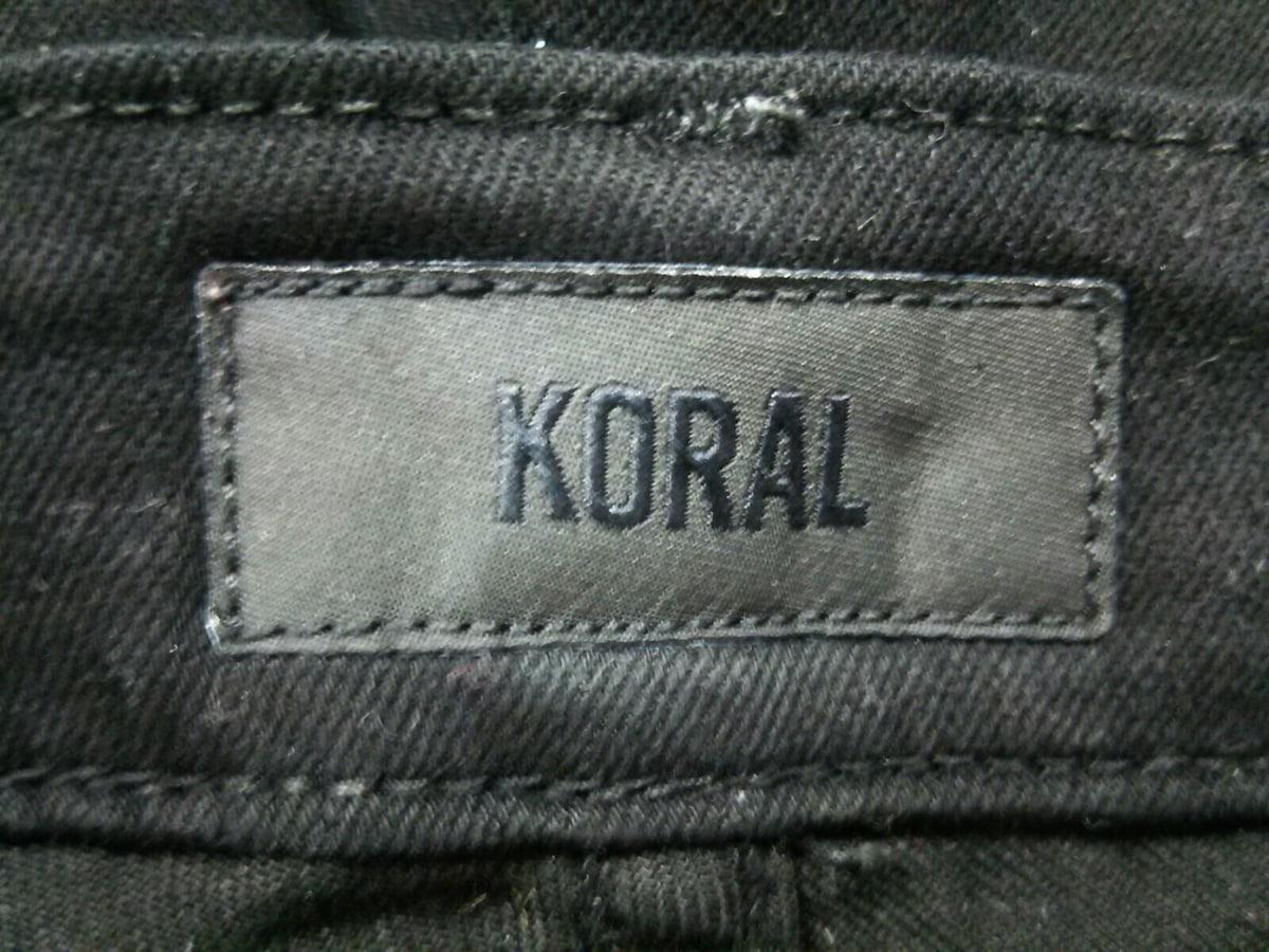 KORAL(コーラル)のパンツ