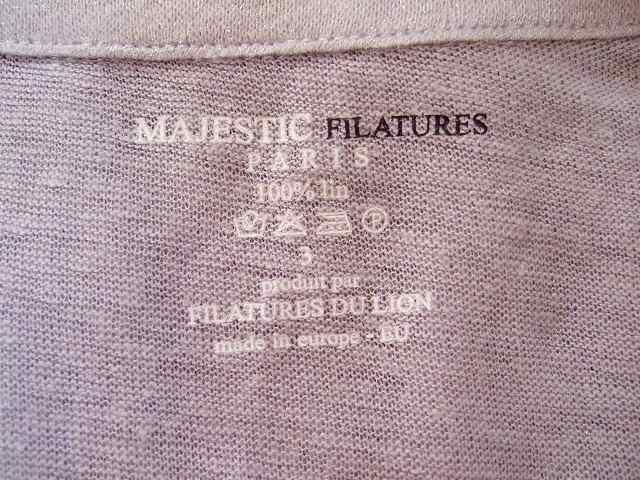 MAJESTIC FILATURES(マジェスティックフィラチュール)のシャツブラウス