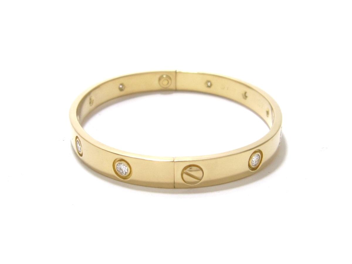 Cartier(カルティエ)のラブブレス フルダイヤ