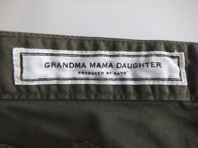 GRANDMAMAMADAUGHTER(グランマママドーター)のパンツ
