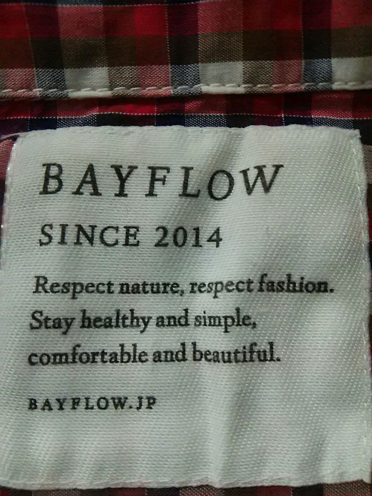 BAYFLOW(ベイフロー)のシャツ