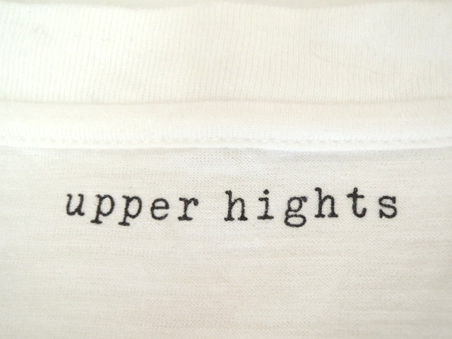 upper hights(アッパーハイツ)のTシャツ