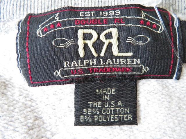 RRL RALPH LAUREN(ダブルアールエル ラルフローレン)のトレーナー