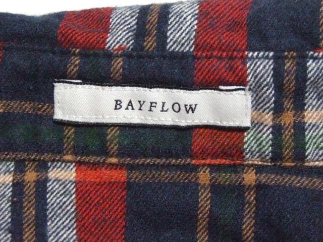 BAYFLOW(ベイフロー)のシャツブラウス