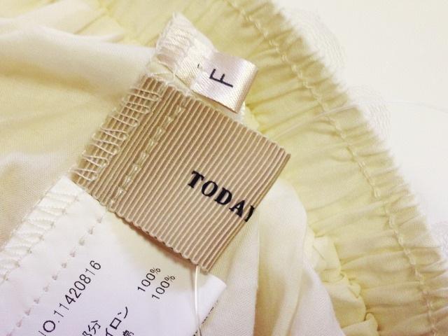 TODAYFUL(トゥデイフル)のスカート