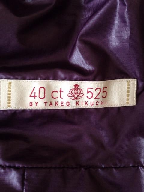 40ct525(タケオキクチ)のダウンジャケット