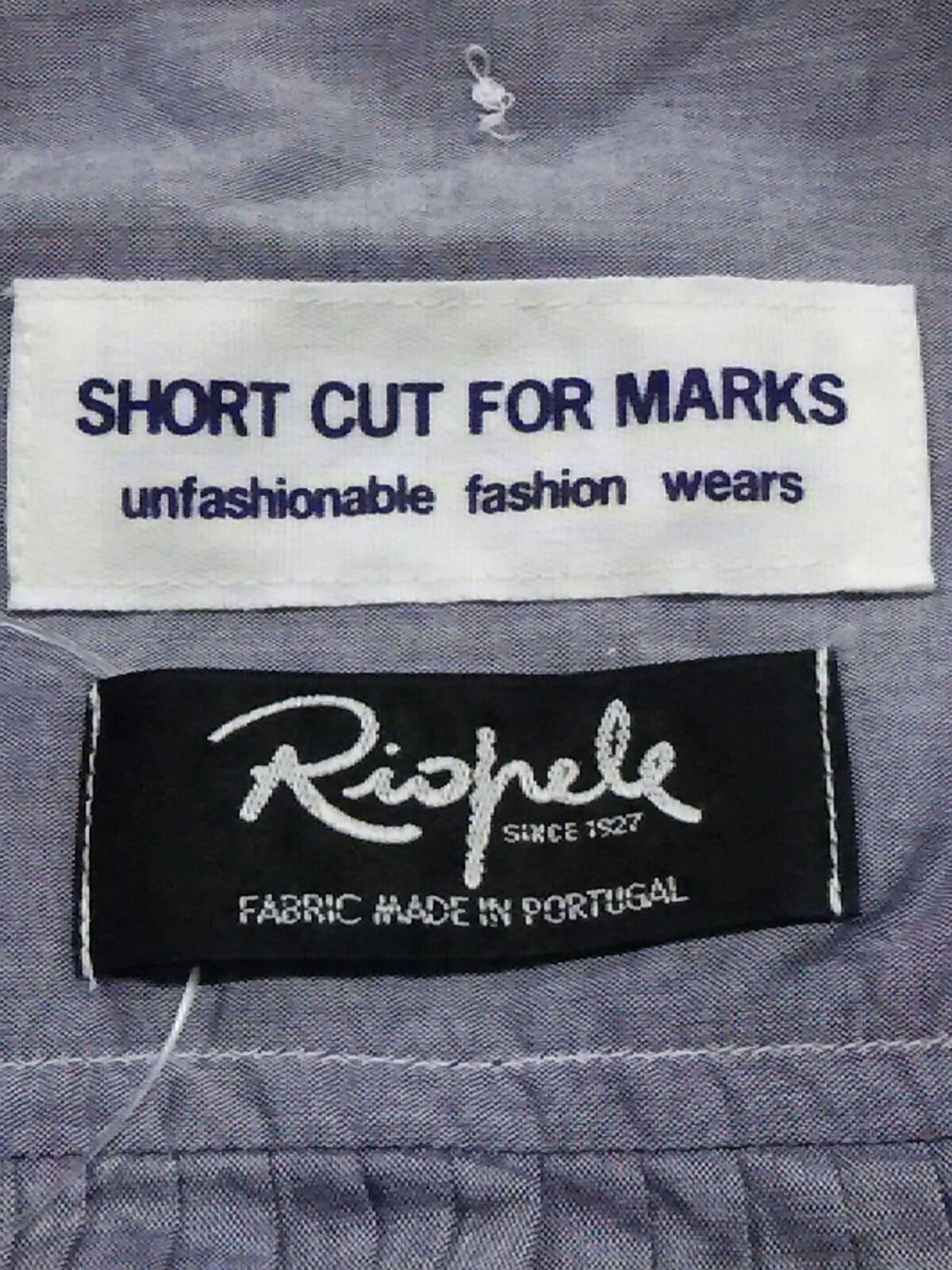 short cut FOR MARKS(ショートカットフォーマークス)のシャツブラウス