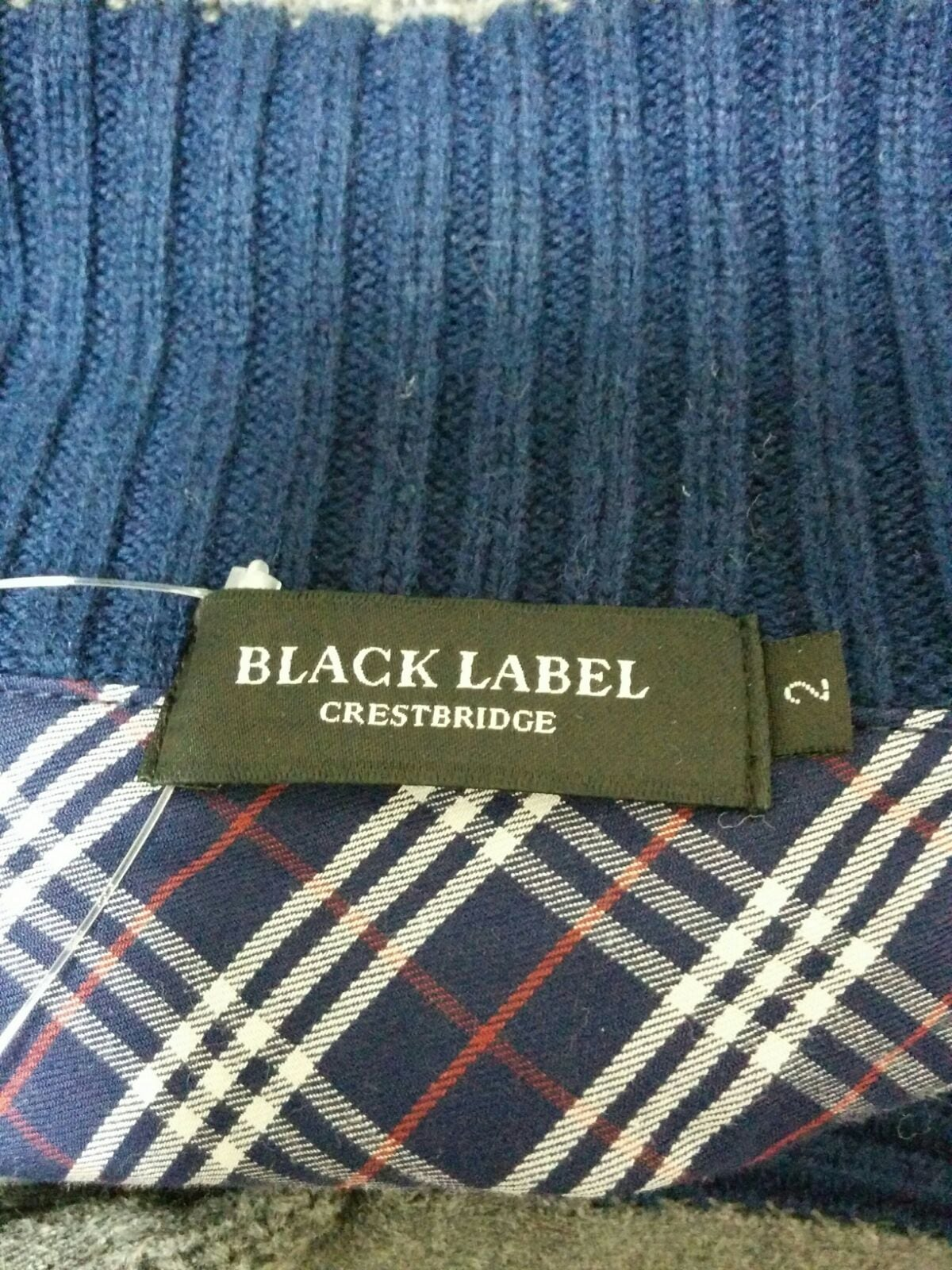 BLACK LABEL CRESTBRIDGE(ブラックレーベルクレストブリッジ)のカーディガン