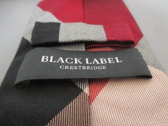 BLACK LABEL CRESTBRIDGE(ブラックレーベルクレストブリッジ)のネクタイ
