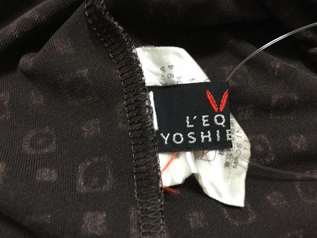 L'EQUIPE YOSHIE INABA(レキップ ヨシエイナバ)のカットソー